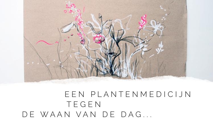 Meditatief planten tekenen meditatie rust onspanning
